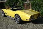 1969 CHEVROLET CORVETTE CONVERTIBLE - Rear 3/4 - 81074