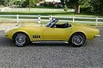 1969 CHEVROLET CORVETTE CONVERTIBLE - Side Profile - 81074