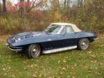 1966 CHEVROLET CORVETTE CONVERTIBLE - Side Profile - 81090