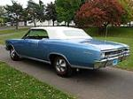 1966 CHEVROLET CHEVELLE SS 396 CONVERTIBLE - Rear 3/4 - 81103