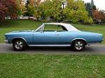 1966 CHEVROLET CHEVELLE SS 396 CONVERTIBLE - Side Profile - 81103