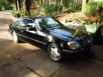 1993 MERCEDES-BENZ 600SEC 2 DOOR COUPE - Front 3/4 - 81134
