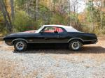 1971 OLDSMOBILE 442 CONVERTIBLE - Side Profile - 81145