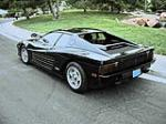 1986 FERRARI TESTAROSSA 2 DOOR COUPE - Rear 3/4 - 81274