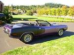 1971 PLYMOUTH CUDA CUSTOM CONVERTIBLE - Side Profile - 81381