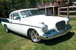 1958 STUDEBAKER SILVER HAWK CUSTOM COUPE - Front 3/4 - 81451
