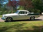 1958 STUDEBAKER SILVER HAWK CUSTOM COUPE - Side Profile - 81451