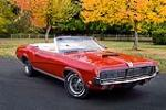 1969 MERCURY COUGAR XR7 CONVERTIBLE - Front 3/4 - 81549