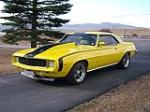 1969 CHEVROLET CAMARO CUSTOM 2 DOOR COUPE - Front 3/4 - 81557