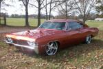 1968 CHEVROLET IMPALA CUSTOM SPORT COUPE - Front 3/4 - 81610