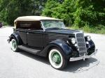1935 FORD MODEL 48 4 DOOR PHAETON - Front 3/4 - 81631