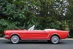1965 FORD MUSTANG CONVERTIBLE - Side Profile - 81716