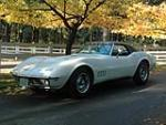 1968 CHEVROLET CORVETTE CONVERTIBLE - Front 3/4 - 81776