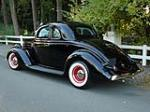 1936 FORD 5 WINDOW CUSTOM COUPE - Rear 3/4 - 81780