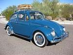 1966 VOLKSWAGEN BEETLE 2 DOOR SEDAN - Front 3/4 - 81801