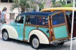 1961 MORRIS MINOR TRAVELLER CUSTOM WOODIE - Rear 3/4 - 81873