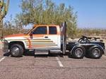 1998 DODGE RAM CUSTOM PICKUP - Side Profile - 81886