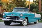 1955 CHEVROLET BEL AIR 2 DOOR CONVERTIBLE - Front 3/4 - 82012