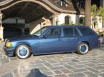 1987 MERCEDES-BENZ 300TE CUSTOM AMG HAMMER WAGON - Side Profile - 82051