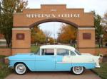 1955 CHEVROLET BEL AIR 4 DOOR SEDAN - Side Profile - 82191
