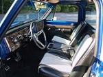 1971 CHEVROLET CHEYENNE SUPER PICKUP - Interior - 82291