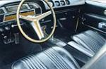 1970 MERCURY CYCLONE GT 2 DOOR HARDTOP - Interior - 82362