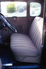 "1930 FORD MODEL A COUPE ""USED BY JOHN DILLINGER"" - Interior - 82583"