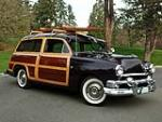 1951 FORD COUNTRY SQUIRE WAGON - Front 3/4 - 82616