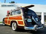 1951 FORD COUNTRY SQUIRE WAGON - Rear 3/4 - 82616