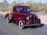 1938 FORD CUSTOM PICKUP - Front 3/4 - 84173