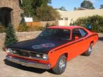 1970 PLYMOUTH DUSTER 2 DOOR HARDTOP - Front 3/4 - 84493