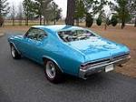 1968 CHEVROLET CHEVELLE 2 DOOR COUPE - Rear 3/4 - 88845
