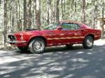 1969 FORD MUSTANG MACH 1 2 DOOR FASTBACK - Front 3/4 - 88882