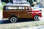 1947 DODGE WOODY STATION WAGON - Front 3/4 - 88883