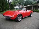 1971 CHEVROLET CORVETTE 2 DOOR CONVERTIBLE - Front 3/4 - 88945