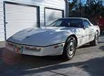1987 CHEVROLET CORVETTE CONVERTIBLE - Front 3/4 - 88979