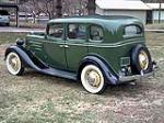 1935 CHEVROLET M49 STANDARD 4 DOOR SEDAN - Rear 3/4 - 89004