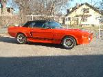 1968 FORD MUSTANG CUSTOM CONVERTIBLE - Side Profile - 89029