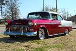 1955 CHEVROLET BEL AIR CUSTOM 2 DOOR HARDTOP - Front 3/4 - 89031