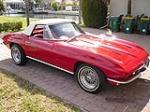 1963 CHEVROLET CORVETTE 2 DOOR CONVERTIBLE - Front 3/4 - 89033