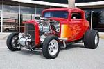 1932 FORD 3 WINDOW CUSTOM COUPE - Front 3/4 - 89083