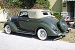 1936 FORD CLUB CABRIOLET - Rear 3/4 - 89087