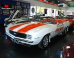 1969 CHEVROLET CAMARO RS/SS PACE CAR CONVERTIBLE - Front 3/4 - 89155