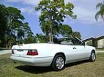 1995 MERCEDES-BENZ E320 2 DOOR CONVERTIBLE - Rear 3/4 - 89224