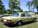 1977 MERCEDES-BENZ 280SE 4 DOOR SEDAN - Rear 3/4 - 89226