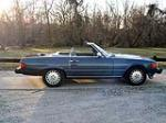 1986 MERCEDES-BENZ 560SL CONVERTIBLE - Side Profile - 89574