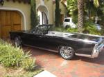 1965 LINCOLN CONTINENTAL CONVERTIBLE - Front 3/4 - 89693