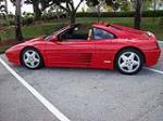 1990 FERRARI 348 TS TARGA - Side Profile - 89884