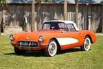 1956 CHEVROLET CORVETTE CONVERTIBLE - Front 3/4 - 90456
