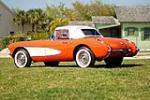 1956 CHEVROLET CORVETTE CONVERTIBLE - Rear 3/4 - 90456